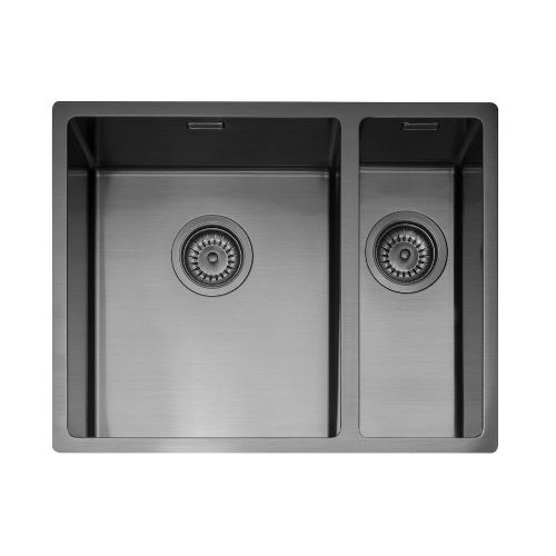 Caple Mode 3415 Gunmetal Inset or Undermount Sink